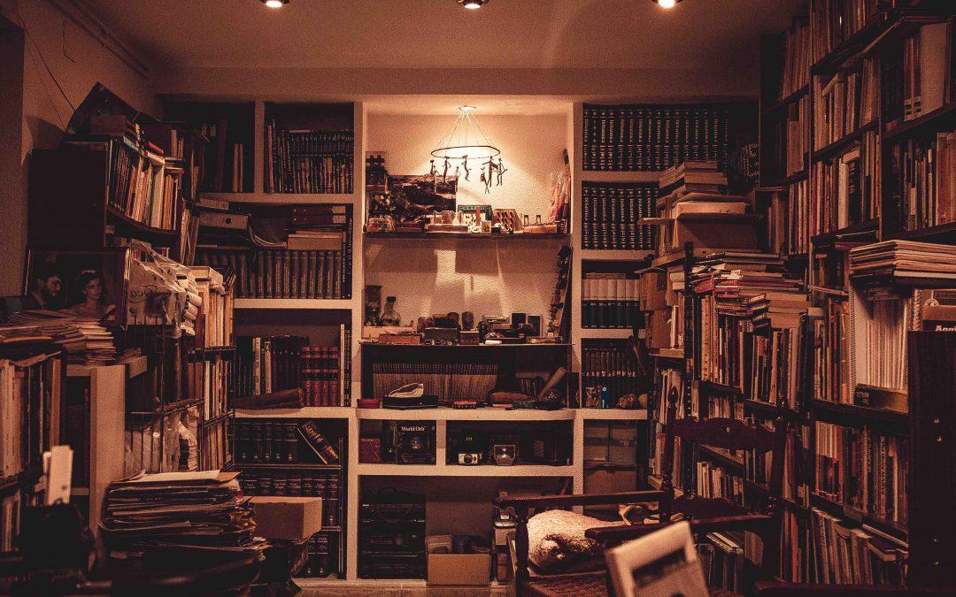 Ai putea să-mi arunci orice, dar nu te atinge de biblioteca mea